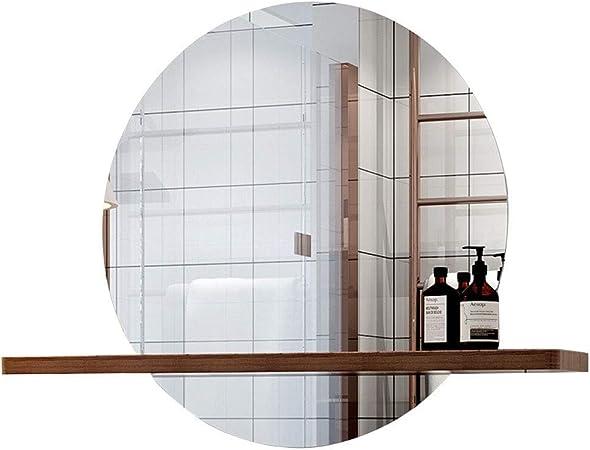 Accessori per bagni Specchio rotondo con mensola | Specchio