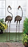 Cheap VERDUGO GIFT Wild Flamingo Garden Art Duo