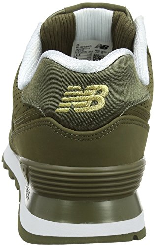 New Balance Men 574 Sneaker Multicolore (vivid Jade)