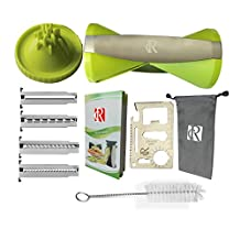 RC Vegetable Spiralizer, 4-Blade Vegetable Spiral Slicer (Green)