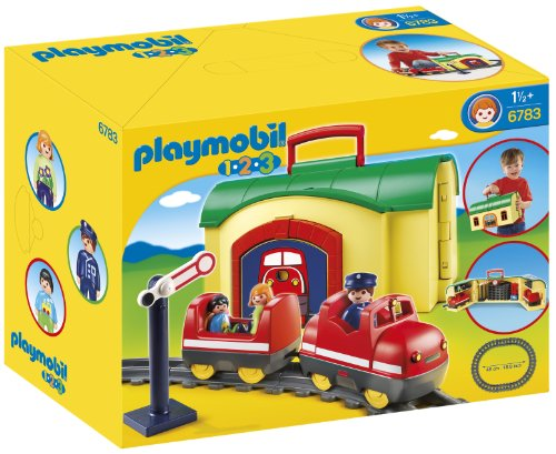 PLAYMOBIL 1.2.3 My Take Along Train
