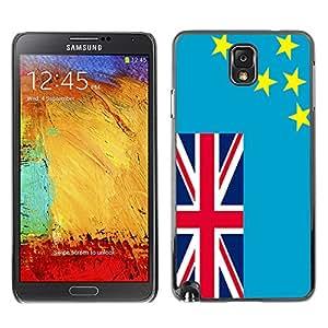 - Flag - - Monedero pared Design Premium cuero del tir¨®n magn¨¦tico delgado del caso de la cubierta pata de ca FOR Samsung Galaxy Note 3 N9000 N9008V N9009 Funny House