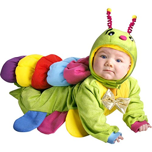 Unique Newborn Baby Caterpillar Costume (3 Months)]()