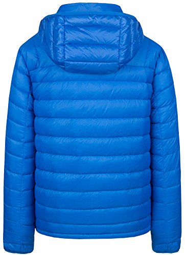 Hood Wantdo Removable Men's Packable Down Blue Sapphire Jacket with Lightweight 0ga0qwrv