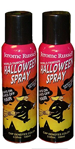Jerome Russell Temporary Hair Color Spray - BLACK