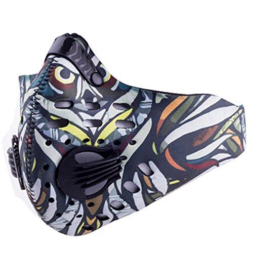 Panegy Anti Dust Bicycling Fishing Hunting Bike Motorcycle Racing Ski Snowboard Outdoor Sport Animal Half Face Mask Owl