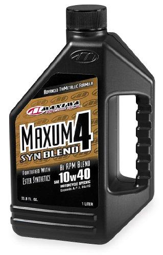Maxima Maxum4 Synthetic Blend Oil (Maxima Maxum4 Synthetic Blend Oil - 10W40 - 1L. 34901B)