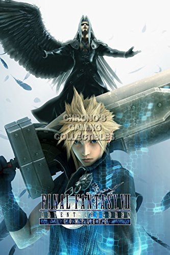 CGC Huge Poster - Final Fantasy VII Advent Children Cloud Strife PS1 PSP - FVII002 (24
