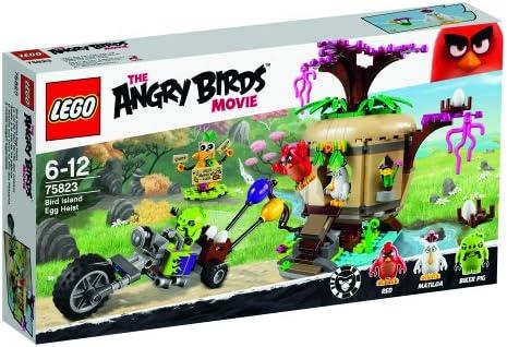 LEGO Angry Birds - Asalto a la Isla de los pájaros, Juego de construccion (75823)
