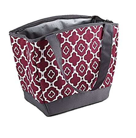 Fit & Fresh Hyannis Insulated Lunch Bag for Women, Girls, Soft Cooler Bag with Ice Pack for Work and On-The-Go, Blue Paisley Fit and Fresh 926FFST285