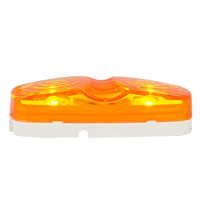 Grand General 80231 Marker Light (Clear Plastic Amber Tiger Eye): Automotive