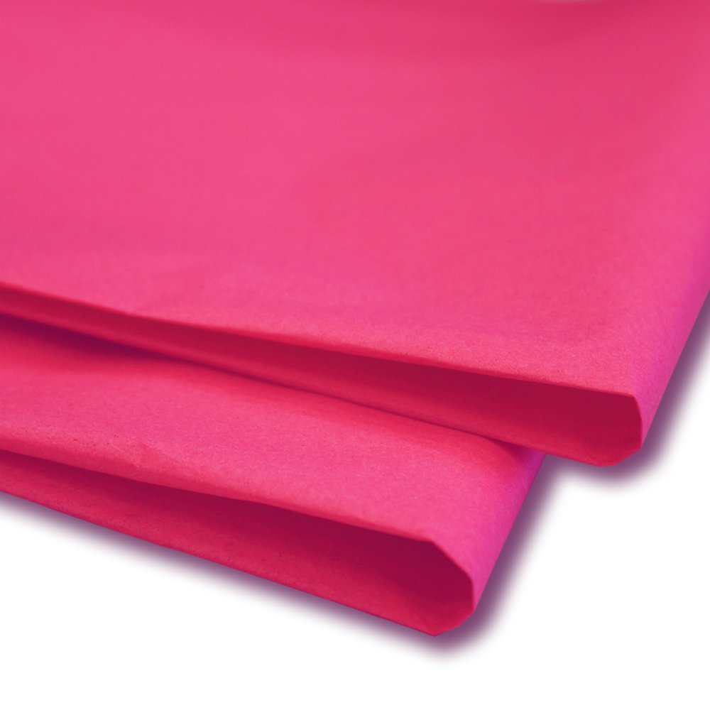 """25 x Hot Pink Tissue / Wrapping Paper Sheets (20"""" x 30"""")"""
