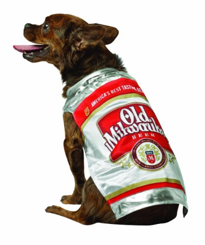 (Rasta Imposta Old Milwaukee Beer Can Dog Costume, X-Small )