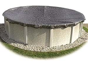 "hinspergers em1632ov 16""x32Oval eviro-mesh suelo invierno cubierta de la piscina"
