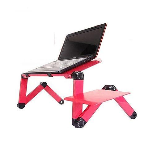 Bandeja Portátil Mesa de soporte para portátil con función de atril ajustable, ratón Junta,