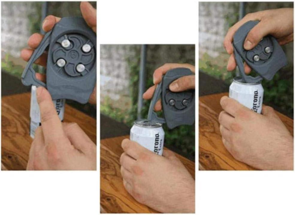 Go Swing Topless Can Opener Abrelatas Manuales Herramienta De Barra De Abrelatas Manual De Seguridad F/ácil Abrelatas De Cerveza Profesional,port/átil Sin Esfuerzo De Borde Liso