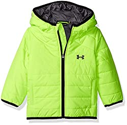 Under Armour Baby Boys' Feature Puffer, Fuel Green, 12 Months
