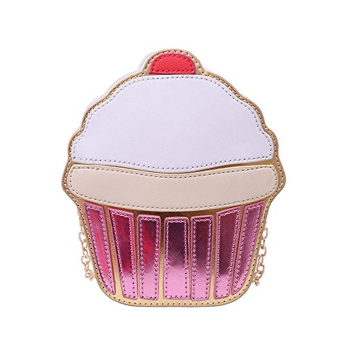 Ximimark Women Girl Cute Cupcake Satchel Shoulder Crossbody Messenge Handbag Bag Purse