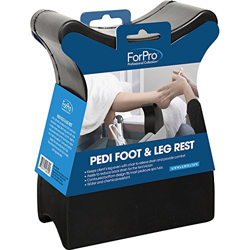 ForPro Pedi Foot & Leg Rest (Rest Pedicure Foot)