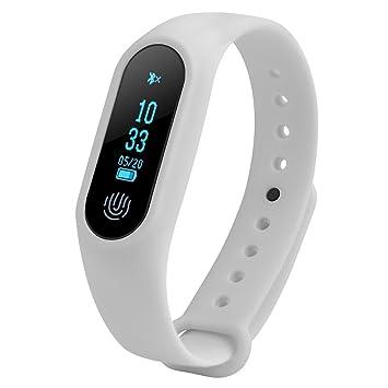 Zerone Fitness Tracker Bluetooth Activity pulsera, Smart ...