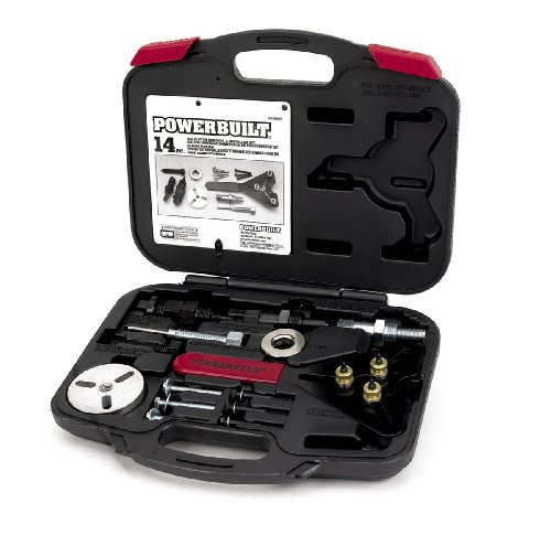 Alltrade 648995 Kit 65 Air Conditioning Clutch Removal and Installation Tool Set (Tool Installation Clutch)