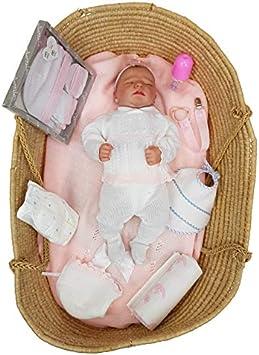 Amazon.es: Borda y más Bebé Reborn recién Nacido hiperrealista. 100% Fabricado en España (Julieta): Juguetes y juegos