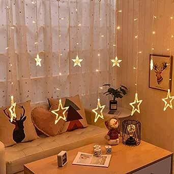 LED Star Lighting Festival Lantern Wedding Birthday Indoor Room Decoration Light String