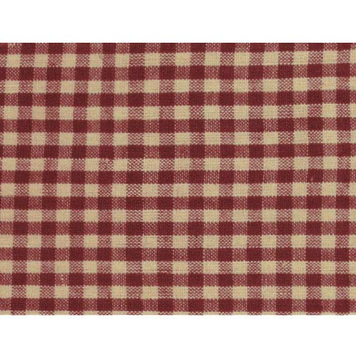 Rustic Red 3 Homespun Cotton Plaid Fabric by JCS - Sold by The Yard
