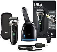 Braun Series 3 ProSkin Elektrorasierer 3090cc, mit Reinigungs-und Ladestation, schwarz/grau