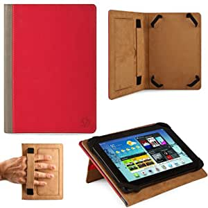 Executive Leather 10.1-inch Portfolio Book Touch Design For Samsung Galaxy Tab 3 10.1-inch Multi-Touch Screen Android 4.2