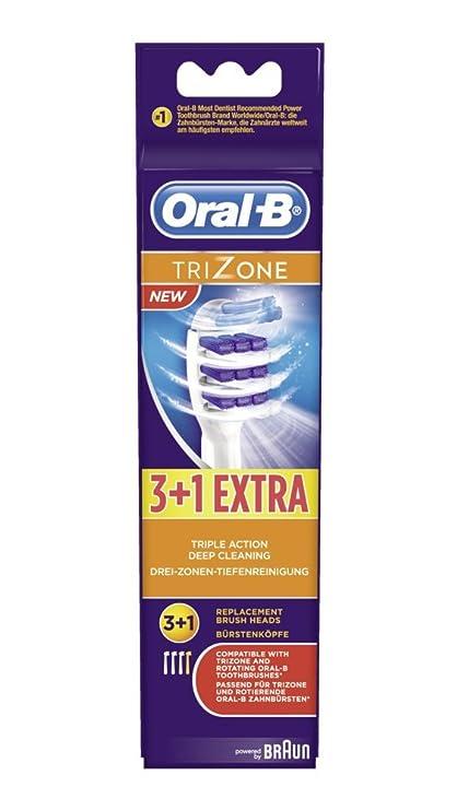 Oral B - Cabezales Trizone - 4 piezas