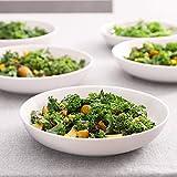 Y YHY 9.75 Inches Pasta Bowls, Ceramic Salad Bowls