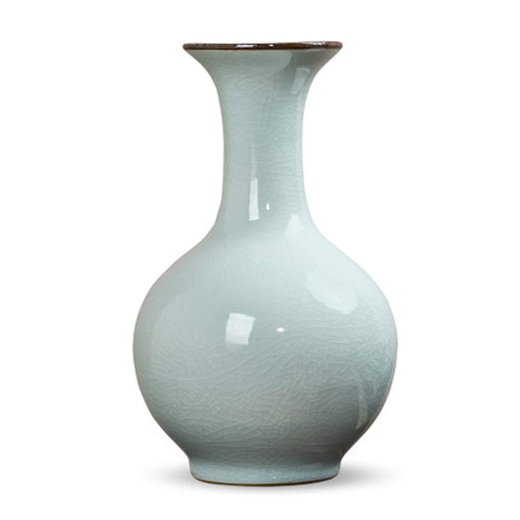 LIULIJUN セラミック花瓶装飾アンティーク磁器磁器レトロモダンシンプルワインキャビネット装飾 B07T6CRDNH