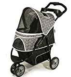 Best Pet Jogging Dog Stroller for Multiple Dogs 2 (Two) or 3 Dogs or Cats up to 50 Pounds