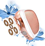 Hair RemovalEpilator Painless Shaver Trimmer Waterproof Wet/Dry for Body