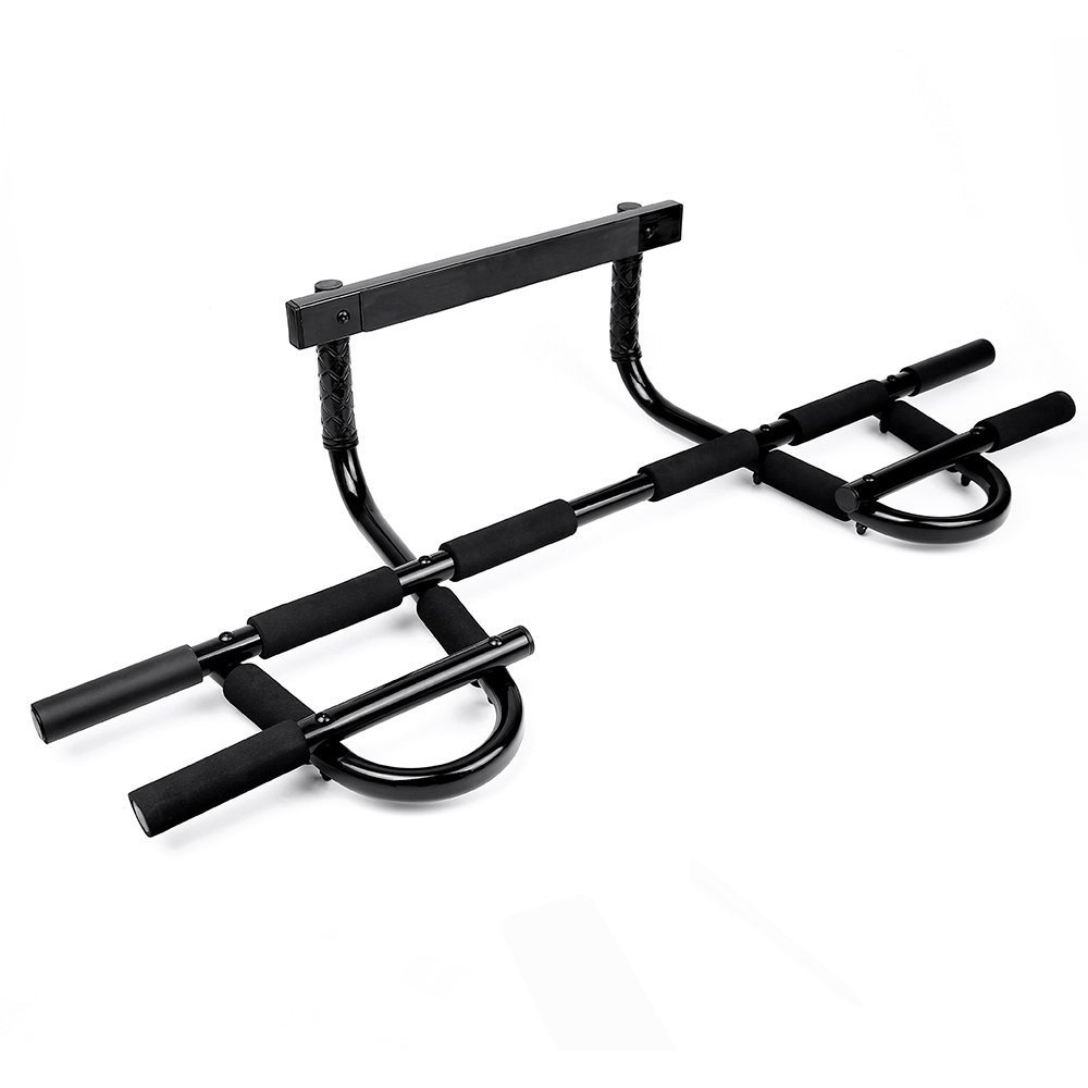 Sportneer Pull Up Bar Doorway, Multi Grip Chin-Up Trainer Workout for Indoor Home Gym, Up to 300 lbs