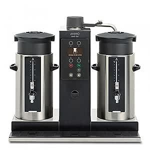 Animo redondo filtro cafetera eléctrica CB 2 x 5/240 tazas de café ...