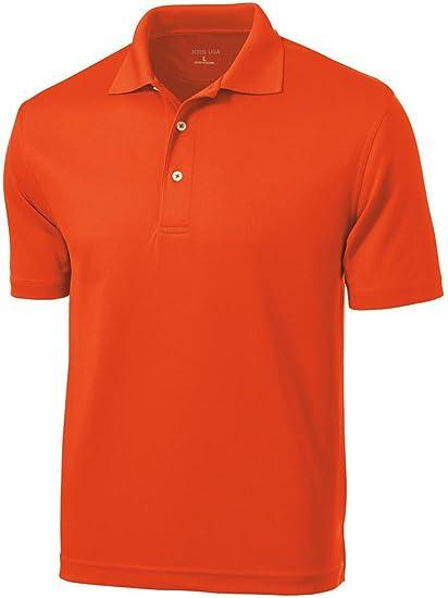 Men's Golf Polos - Dri-Mesh Moisture Wicking Golf Shirts in Regular, Big & Tall