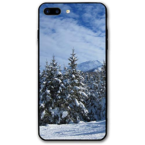 Snow Clouds Trees Personalized Case Compatible for iPhone