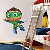 Super Why Whyatt Beanstalk Decal Graphic Wall Sticker Decor Art H07, Regular