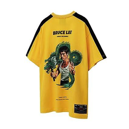 EEKUY Bruce Lee Traje de Gimnasia, Trajes de Gimnasia para ...