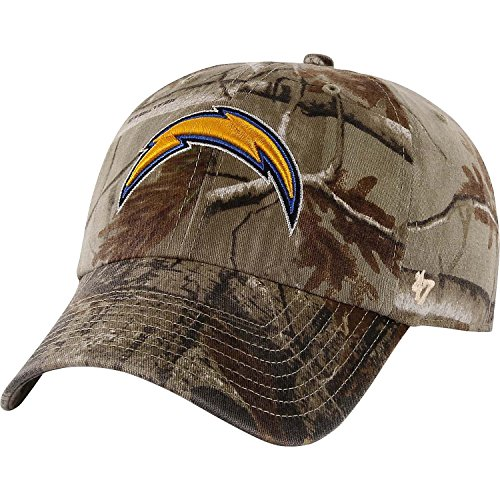 ('47 Brand San Diego Chargers NFL Realtree Camo Clean Up Cap)