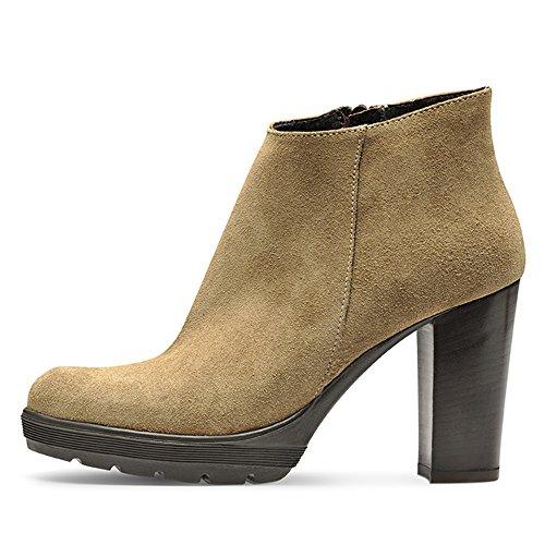 Ladies Shoes Evita grain Beige Piel Womens Full 5F6xg