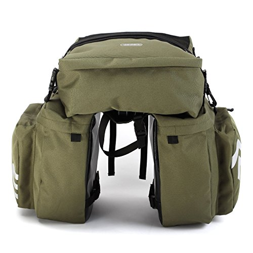 Bicycle Rear Seat Carrier Bag Rack Trunk Bags Bike Commuter Bag