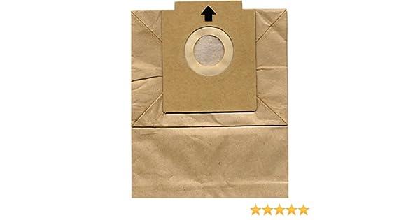 Sanfor 17090 - Pack de 10 bolsas para aspiradoras Solac RSO901/903/897/A401