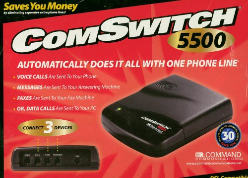 Other Communication Devices - ComSwitch 5500 DSL Compatible Connect 3 Devices