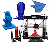 3D Printer Kit - Anet A8 High Precision Desktop 3D Printer Kits Reprap i3 DIY Self Assembly with 8GB SD Card Aibecy Cleaning Cloth