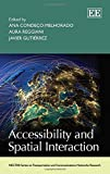 Accessibility and Spatial Interaction, Condeço Melhorado, Ana and Reggiani, Aura, 1782540725