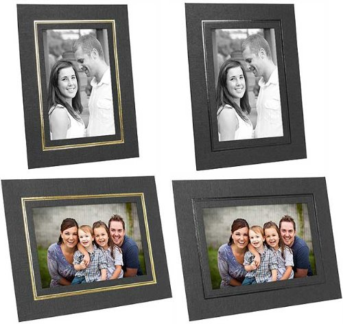 Amazon Cardboard Picture Frames For 8x10 In Black Wgold Foil