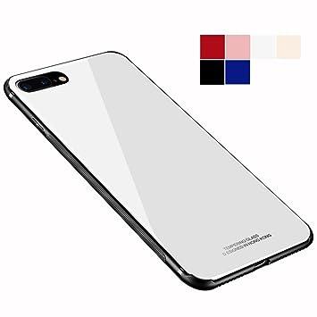 4a2432cbe7 Shanenshop iPhone 7/iPhone 8 ガラス ケース カバー 背面保護 3D強化ガラス iPhone 7